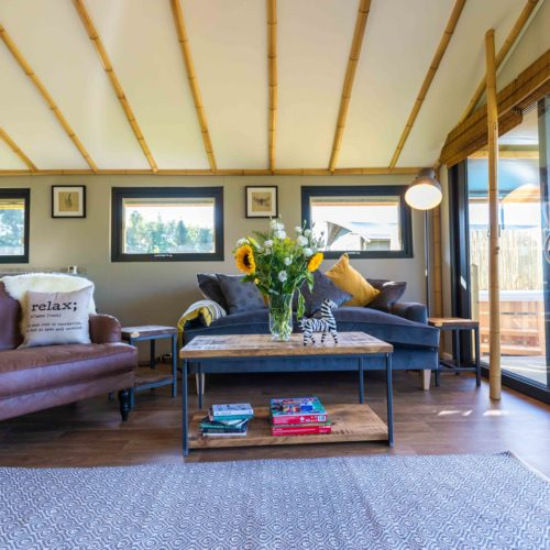 luxury glamping lodges